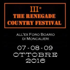 """Spot del """"III The Renegade Country Festival"""" in onda su Country Power Station"""
