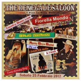 SUPER SERATA COUNTRY con Fiorella Mondo