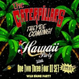 HAWAII PARTY con THE CATERPILLARS live concert – 29 Aprile 2017