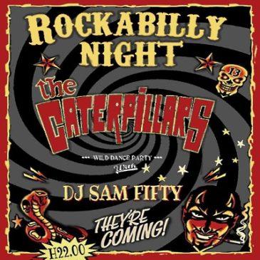 SERATA ROCK: THE CATERPILLARS live