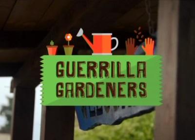 Gare di allestimento coi fiori: Guerrilla Gardeners