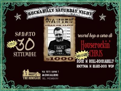 Rockabilly Saturday Night<br /> Sabato 30 Settembre 2017
