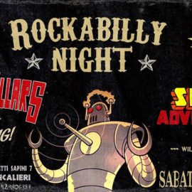 Rockabilly Night<br /> Sabato 25 Novembre 2017