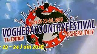 DARRYL WORLEY e WYNN WILLIAMS al Voghera Country Festival '18